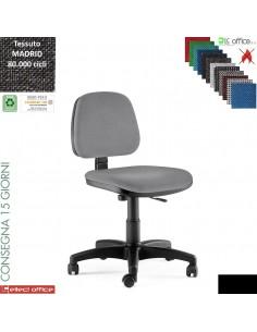 TIM sedia operativa con contatto permanente base nylon rivestimento tessuto MADRID class 1 IM