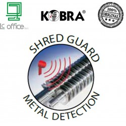 Metal Detection System Distruggi Documenti Kobra 260 TS S4