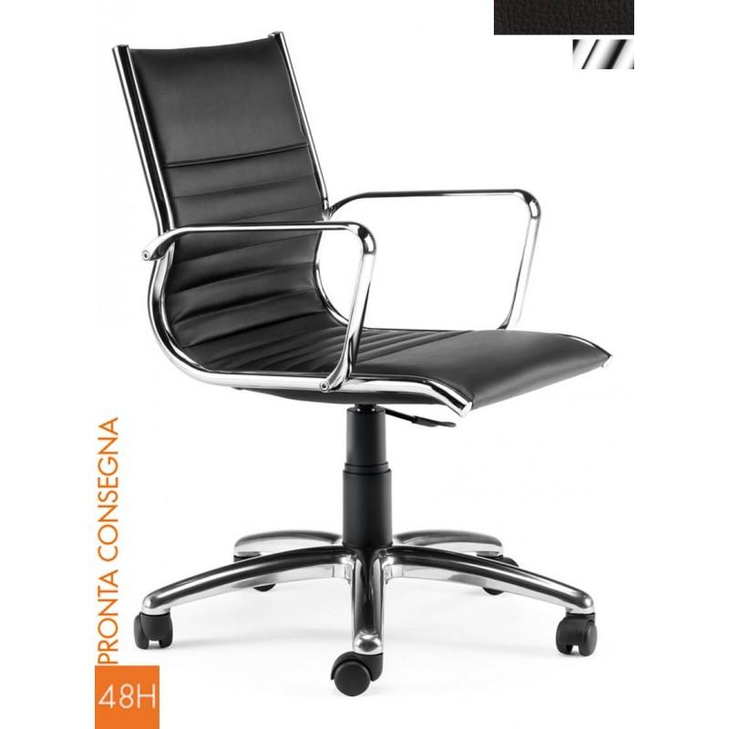 Sedia operativa per ufficio - Rivestire sedia da ufficio ...