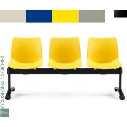 Panca attesa 3 sedute Alexia 5
