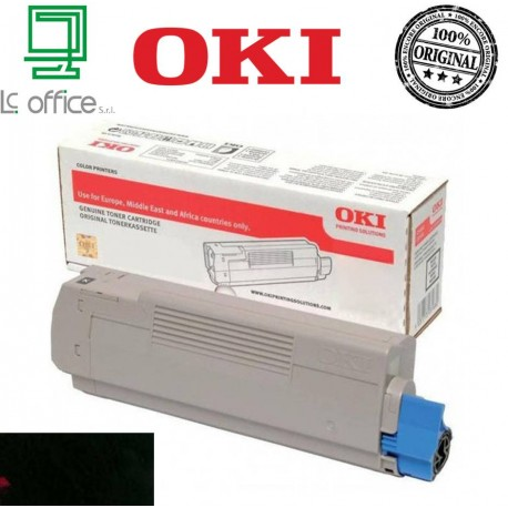 Toner ORIGINALE OKI Black 46490404