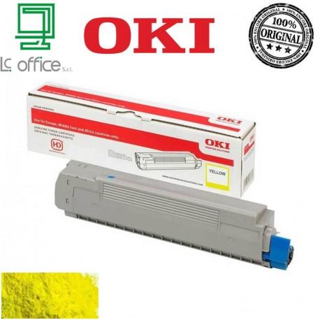 Toner ORIGINALE OKI Yellow 46490401
