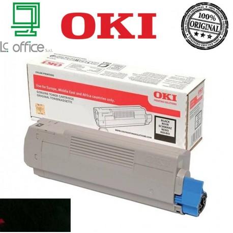Toner ORIGINALE OKI Magenta 46443104