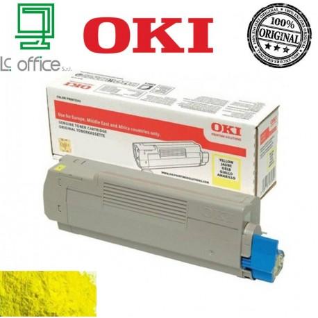 Toner ORIGINALE OKI yellow 46471101