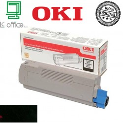TONER ORIGINALE OKI Black 46443104