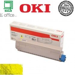 TONER ORIGINALE OKI yellow 46443101