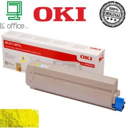 Toner ORIGINALE OKI Yellow 45862814