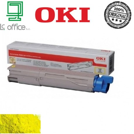 Toner ORIGINALE OKI Yellow 45862837