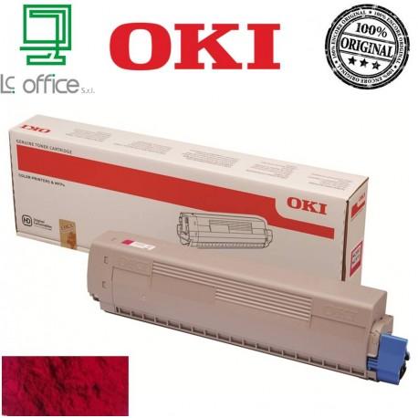 Toner ORIGINALE OKI Magenta 45862838