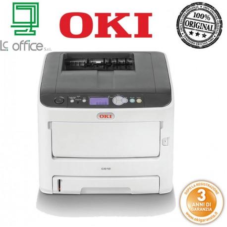 Stampante laser Colore A4 OKI C612n 46406003