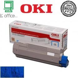 Toner Oki originale CYAN 46507507