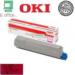 Toner Oki originale magenta 46507506