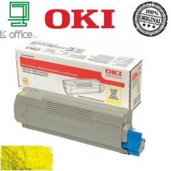 Toner Oki originale yellow 46507613