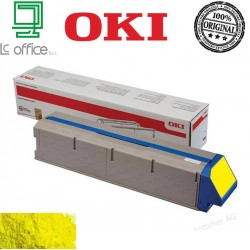 Toner Oki originale yellow 45536413