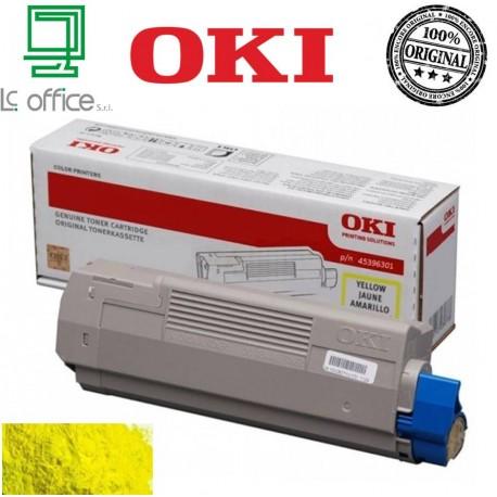 Toner originale OKI yellow 45396301