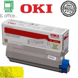 Toner originale OKI yellow 45396201