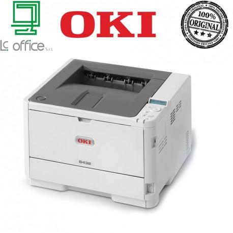 Stampante laser A4 mono Oki B432dn 45762012