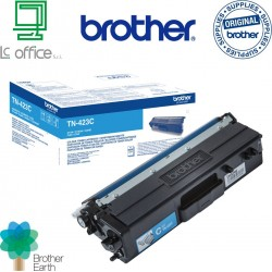 Toner originale Brother TN423C ciano
