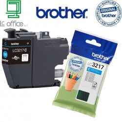 Cartucce originale Brother LC3217C