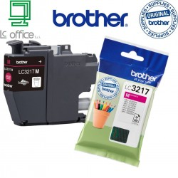 Cartucce originale Brother LC3217M