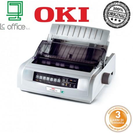 Stampante 9 aghi Oki ML5520eco 01308601