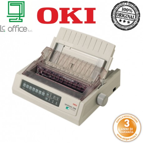 Stampante 24 aghi Oki ML3390eco 01308401