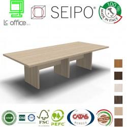 Tavolo riunione piano struttura legno