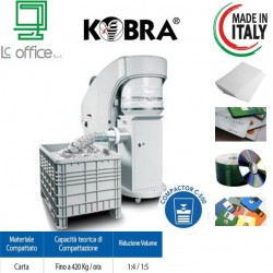 Distruggi Documenti Kobra Cyclone con compactore C 500