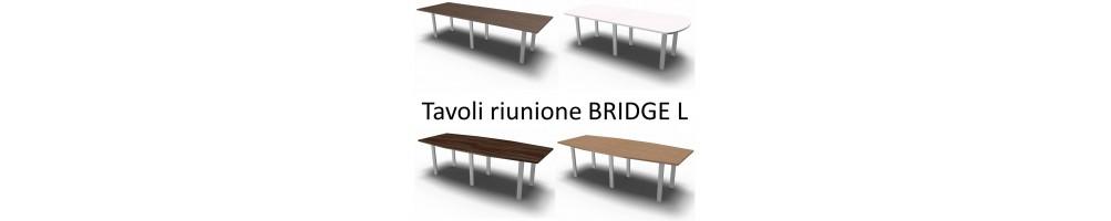 TAVOLI RIUNIONE 8 POSTI BRIDGE L SEIPO
