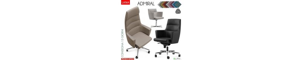 sedie e poltrone per ufficio con rivestimenti in pure lana vergine
