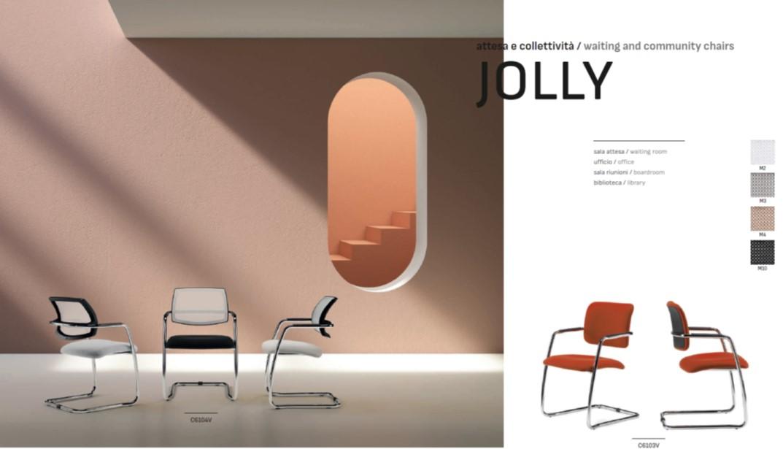 Modelli sedia attesa Jolly Elleci Office